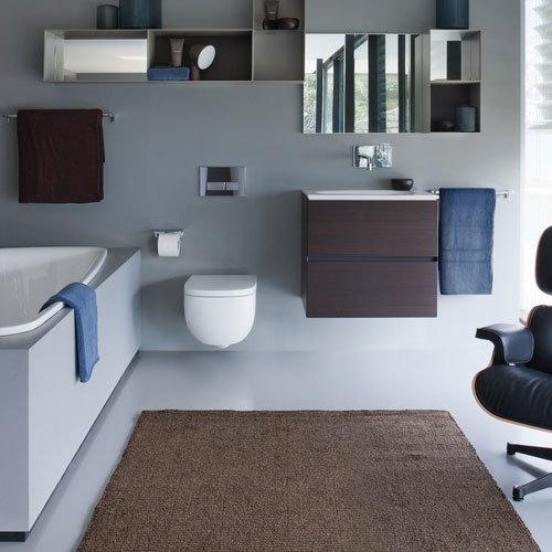 Laufen - Palomba Wall Hung Pan with Toilet Seat - PALOWC3 Profile Large Image