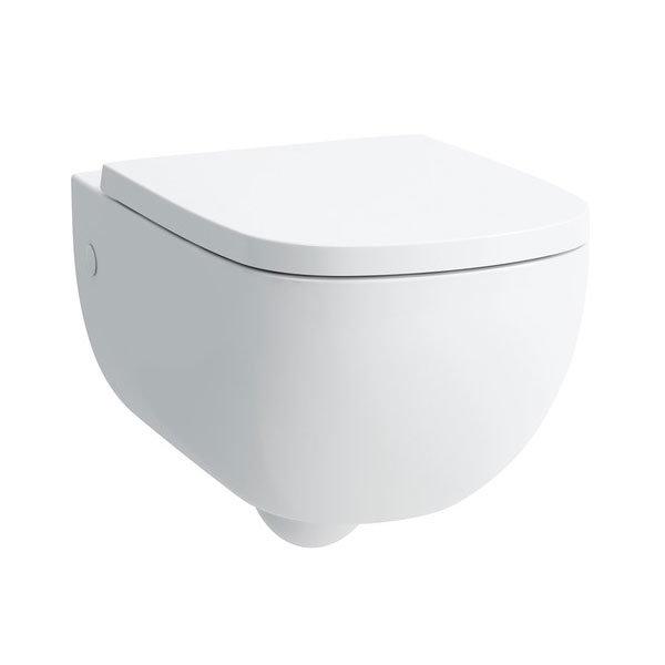 Laufen - Palomba Wall Hung Pan with Toilet Seat - PALOWC3 Large Image