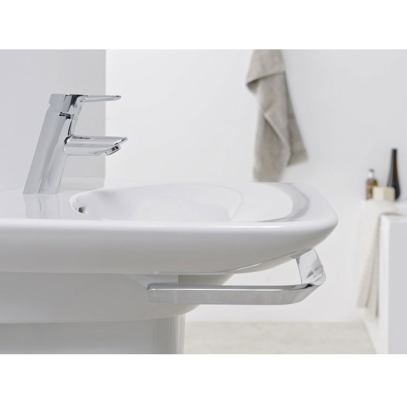 Laufen - Palace Chrome Basin Towel Rail - 3 x Size Options Profile Large Image