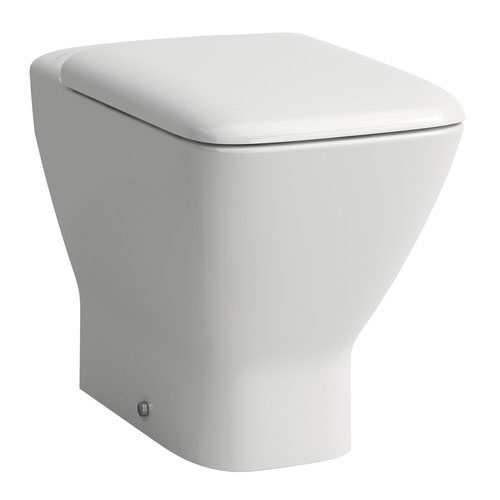 Laufen - Palace Back to Wall Pan with Toilet Seat - PALWC2 profile large image view 1