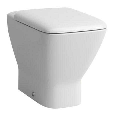 Laufen - Palace Back to Wall Pan with Toilet Seat - PALWC2