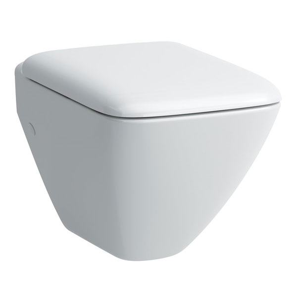 Laufen - Palace Compact Wall Hung Pan with Toilet Seat - PALWC4 Large Image