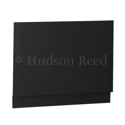 Hudson Reed High Gloss Grey End Bath Panel profile large image view 2