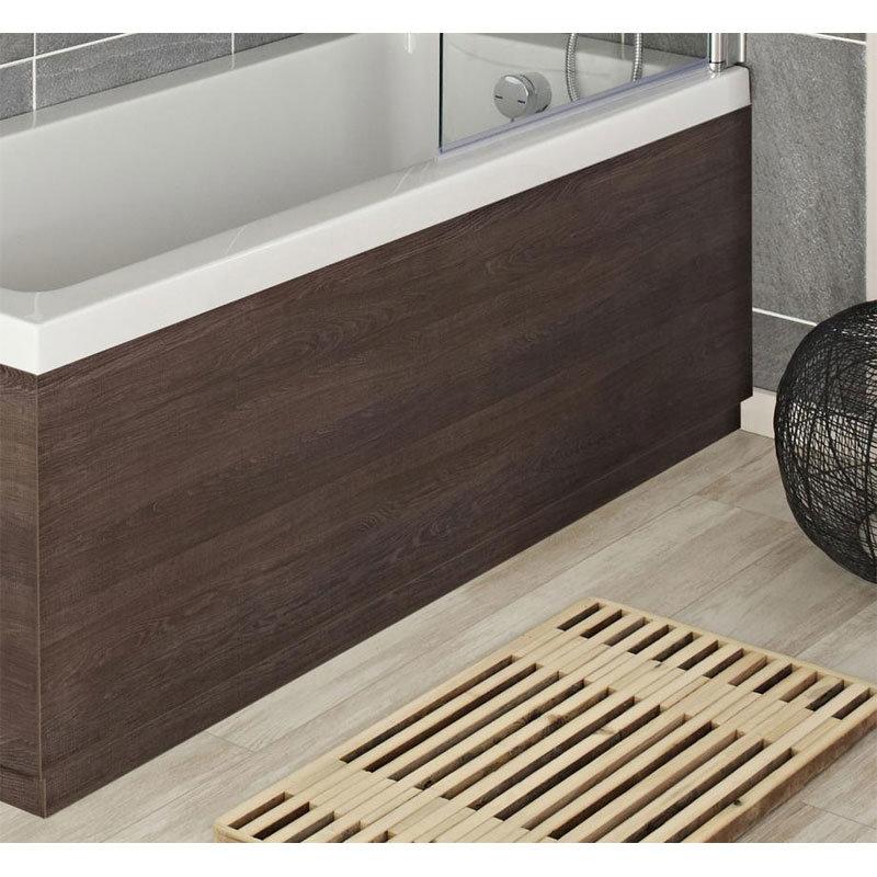 Hudson Reed Mid Sawn Oak Front Bath Panel Large Image