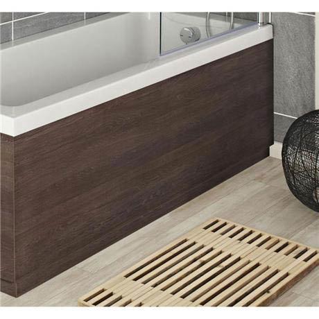 Hudson Reed Mid Sawn Oak Front Bath Panel