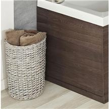 Hudson Reed Mid Sawn Oak End Bath Panel - Various Size Options Medium Image
