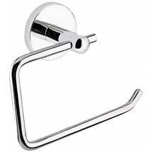 Luxury Toilet Roll Holder - Chrome Medium Image