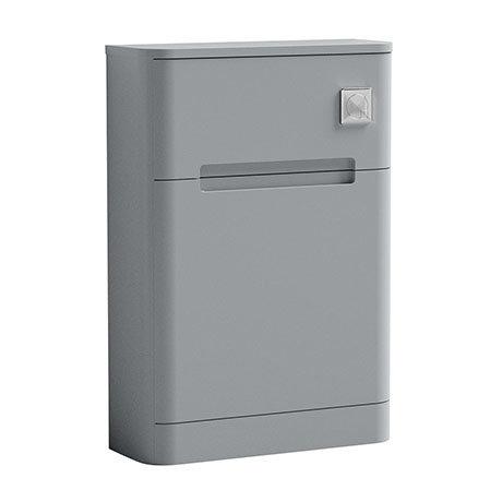 Nuie Elbe Satin Grey 550mm WC Unit - PAR241