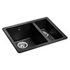 Rangemaster Paragon Ash Black 1.5 Bowl Igneous Granite Sink Small Image