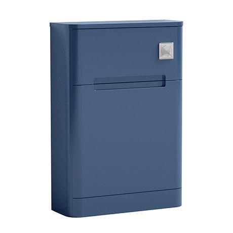 Nuie Elbe Satin Blue 550mm WC Unit - PAR341