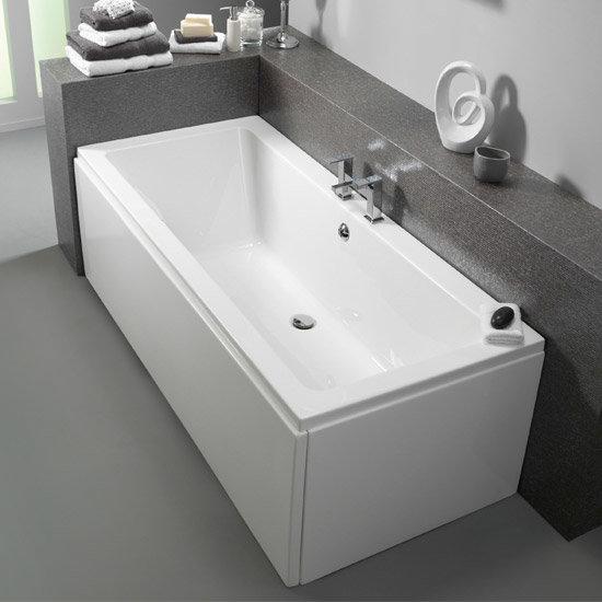 Pura Bloque 1700 X 750mm Double Ended Bath Inc Leg Pack