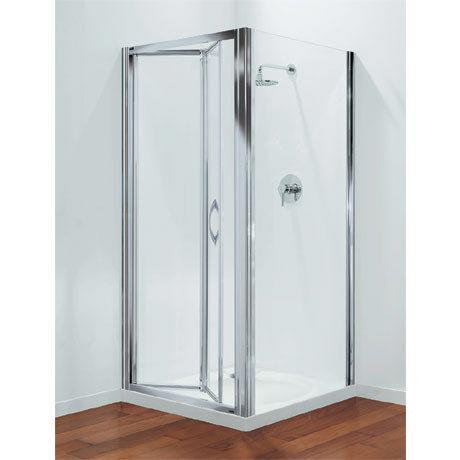 Coram - Premier Bi-Fold Shower Door - Various Size Options