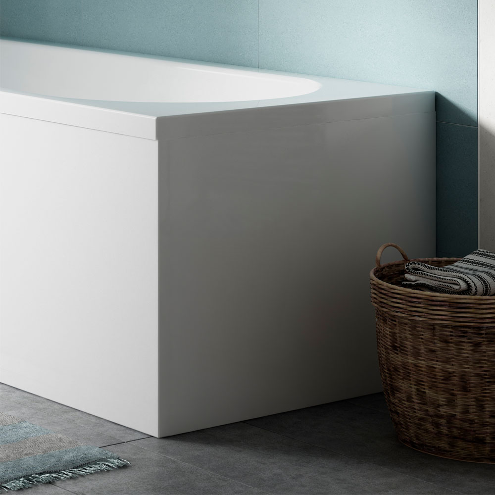 Acrylic End Panel for P-Shaped Baths - PBTEP