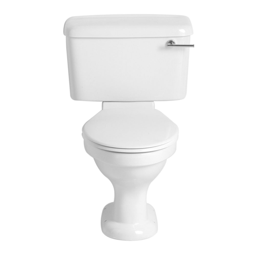 Heritage - Belmonte Close Coupled WC & Landscape Cistern - Various Lever Options Large Image