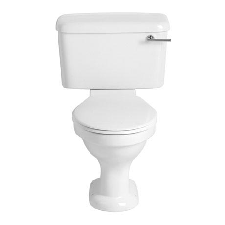 Heritage - Belmonte Close Coupled WC & Landscape Cistern - Various Lever Options