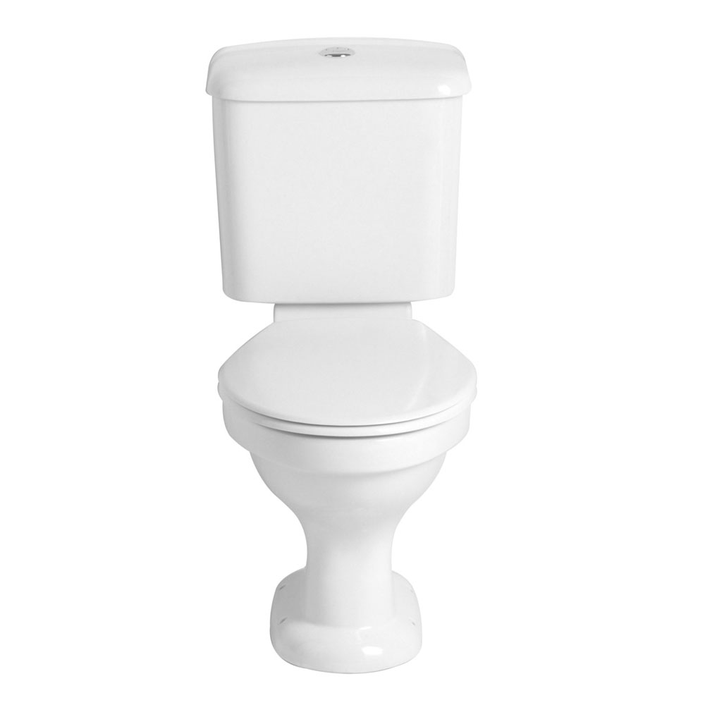 Heritage - Belmonte Close Coupled WC & Portrait Cistern Large Image