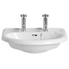 Heritage Belmonte 2TH Wall Hung Basin - PBW06 profile small image view 1