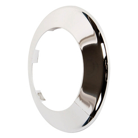 Talon 110mm Pipe Collar Chrome Effect for Soil Pipes - PC110C