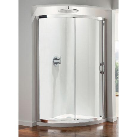 Coram - Premier Crescent Shower Enclosure - Various Size Options