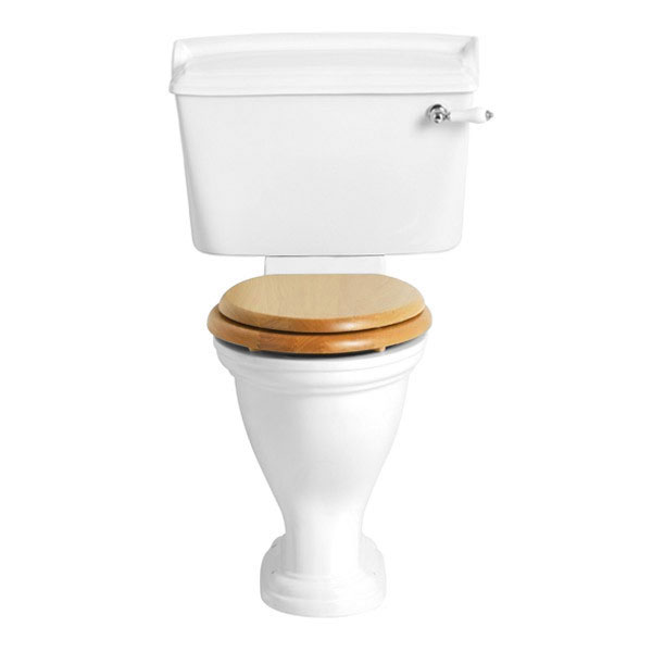 Heritage - Dorchester Close Coupled Comfort Height WC & Landscape Cistern - Various Lever Options La