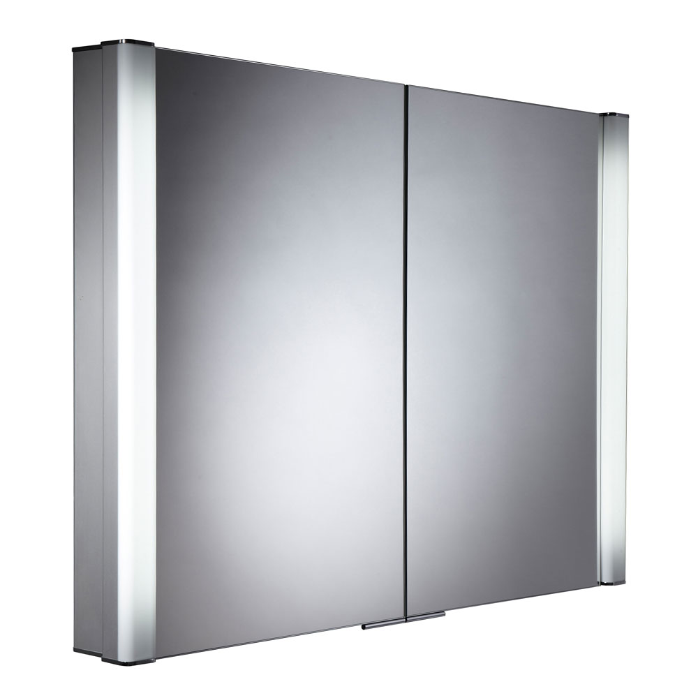 Roper Rhodes Perception Recessible Illuminated Mirror Cabinet - PE1000 Large Image