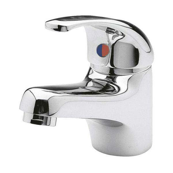 Ultra Eon Single Lever Mono Basin Mixer Tap with Waste - Chrome - PF305 Large Image