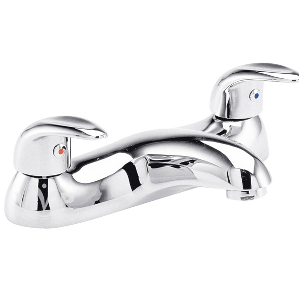Ultra Eon Deck Mounted Bath Filler - Chrome - PF343 Large Image