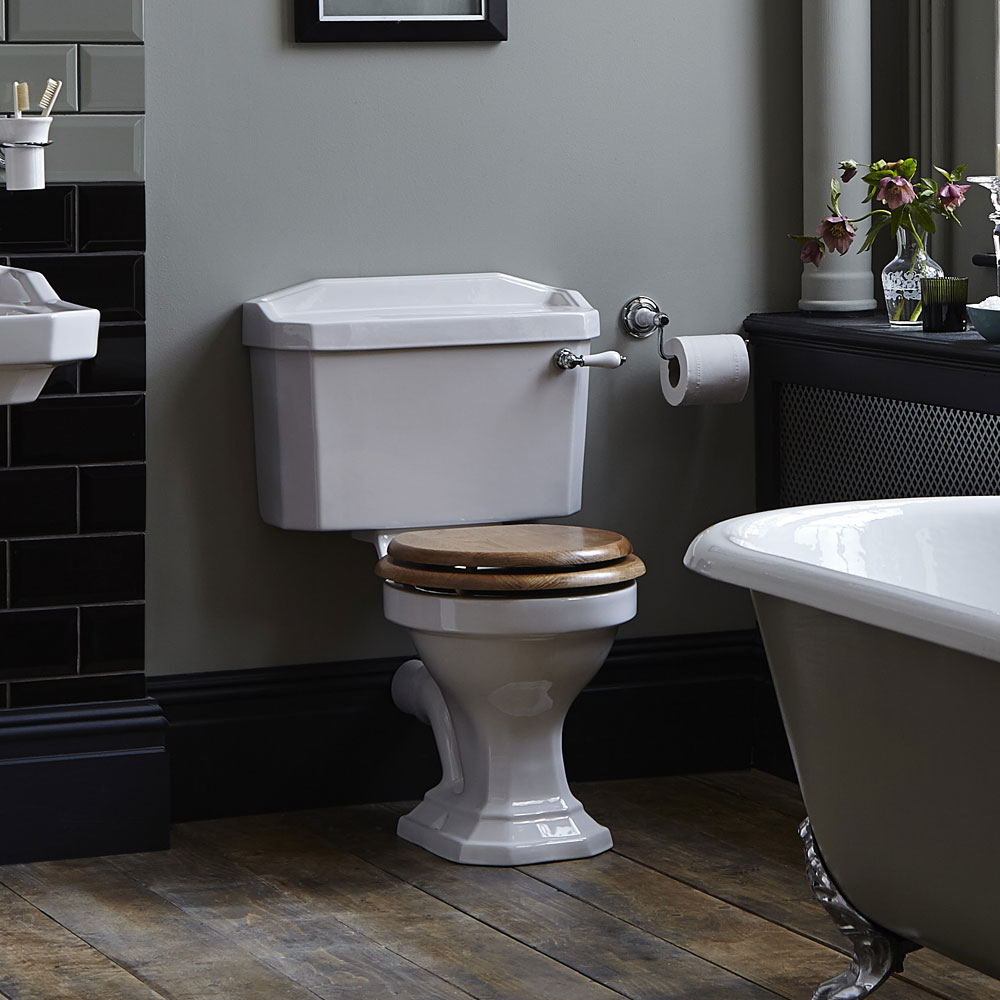 Heritage - Granley Close Coupled Standard Height WC & Cistern - Various Lever Options Standard Large Image