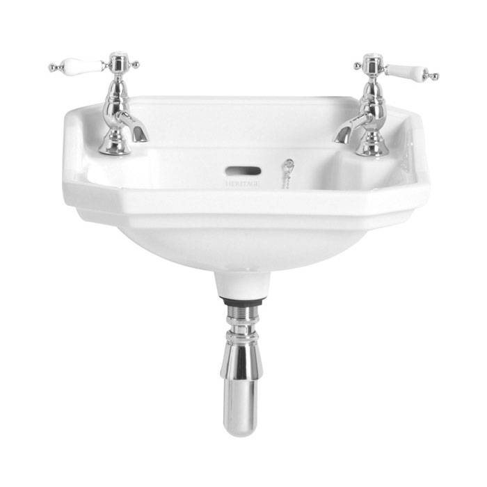 Heritage - Granley 2TH Baby Basin Large Image