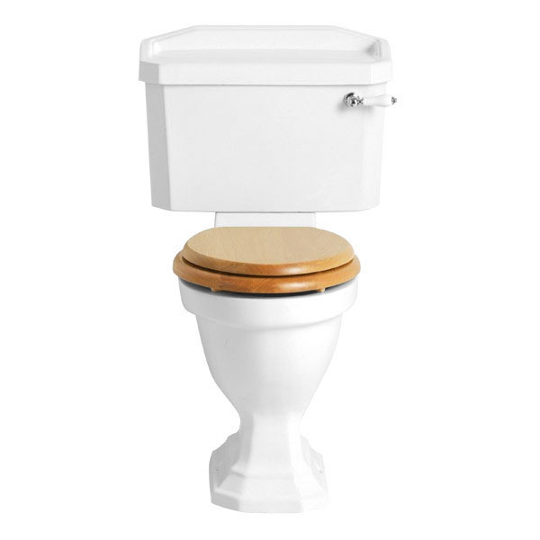 Heritage - Granley Close Coupled Comfort Height WC & Cistern - Various Lever Options Large Image
