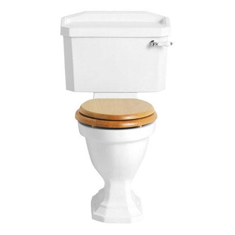 Heritage - Granley Close Coupled Comfort Height WC & Cistern - Various Lever Options