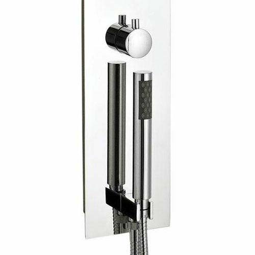 Hudson Reed - Guise Fully Recessed Concealed Thermostatic Shower Panel - PGU001 profile large image view 3