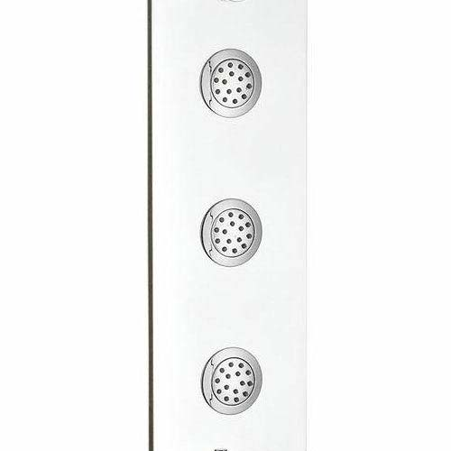 Hudson Reed - Guise Fully Recessed Concealed Thermostatic Shower Panel - PGU001 profile large image view 4