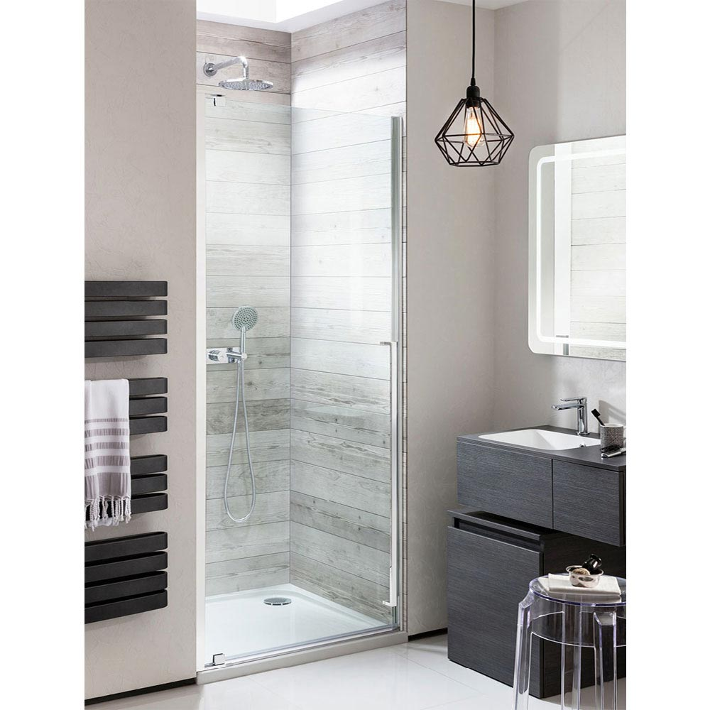 Simpsons Pier Hinged Shower Door Large Image