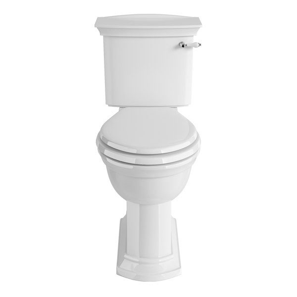 Heritage - Blenheim Close Coupled WC & Cistern - Various Lever Options profile large image view 1