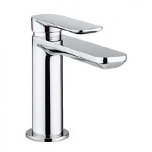 Crosswater Pier Monobloc Basin Mixer - Chrome - PI110DNC Medium Image