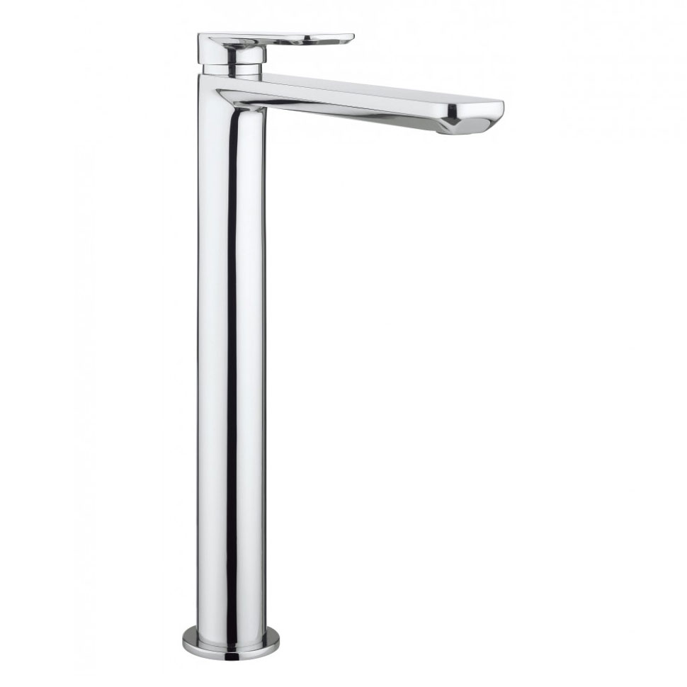 Crosswater - Pier Tall Monobloc Basin Mixer - PI112DNC profile large image view 1
