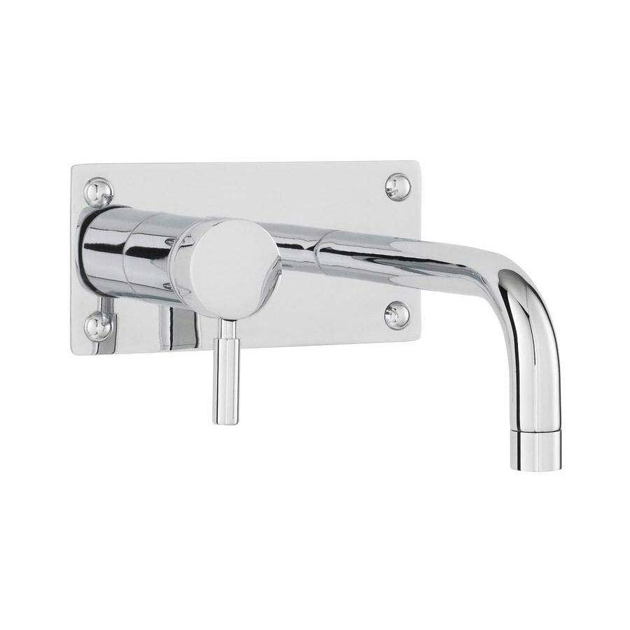 Ultra Helix Single Lever Wall Mounted Bath/Basin Filler - Chrome - PK328 Large Image