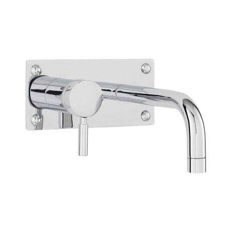 Ultra Helix Single Lever Wall Mounted Bath/Basin Filler - Chrome - PK328