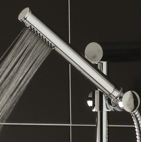 Ultra Pencil Chrome Plated Brass Shower Handset - PK330 Profile Large Image