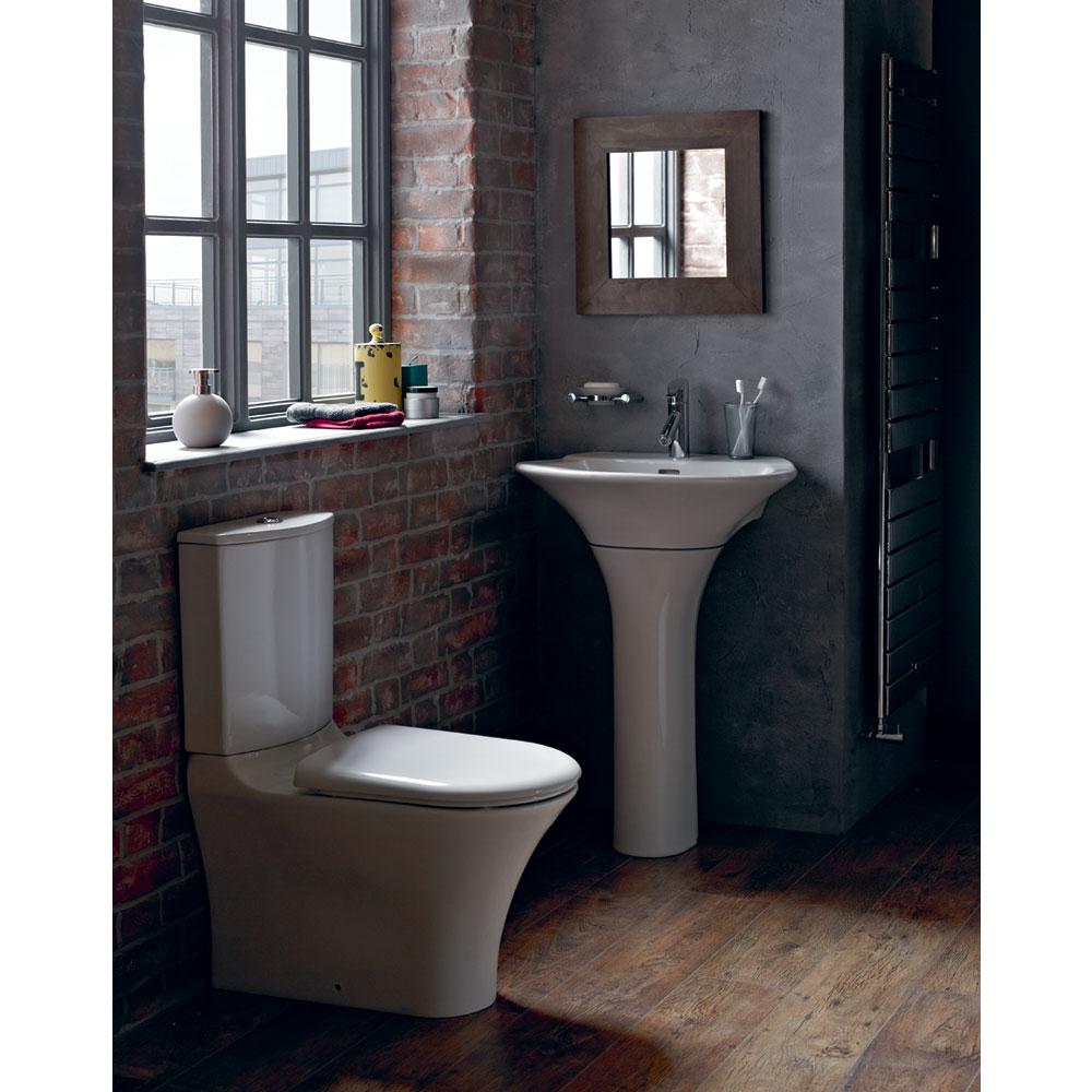 Heritage Kharine Back to Wall Toilet inc Soft Close Seat profile large image view 2