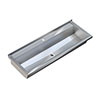 Franke Planox Wall Mounted Stainless Steel Wash Trough Sink profile small image view 1