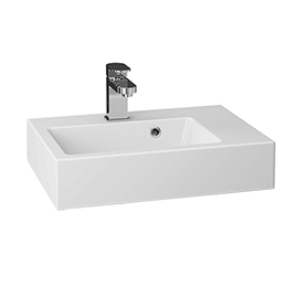 Vision 508x353mm Polymarble Counter Top Basin - PLYBAS500