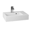 Vision 508x353mm Polymarble Counter Top Basin - PLYBAS500 profile small image view 1