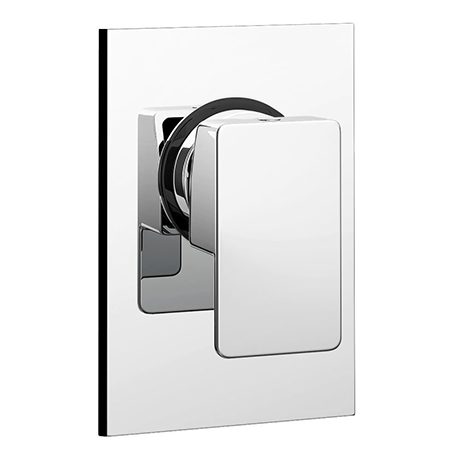 Monza Modern Concealed Manual Shower Valve - Chrome