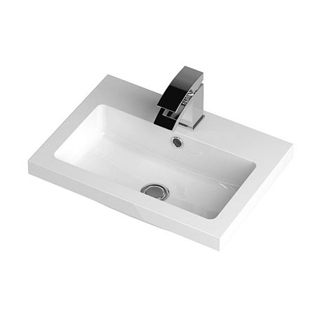 Hudson Reed 500 x 355mm Full Depth Polymarble Basin 1TH