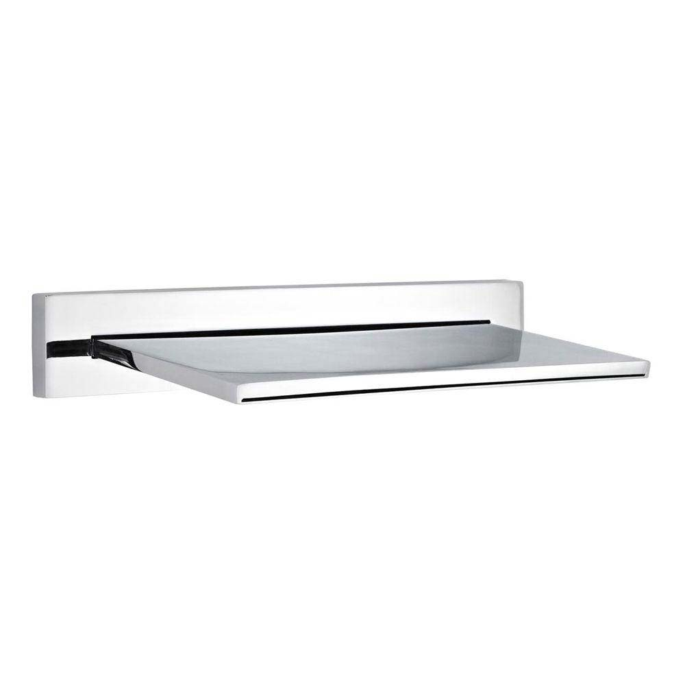 Hudson Reed - Slimline Fixed Shower/Bath Waterfall Filler - PN300 profile large image view 1