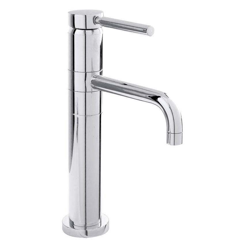 Hudson Reed - Tec Single lever High Rise Mixer with swivel spout - PN370 Large Image