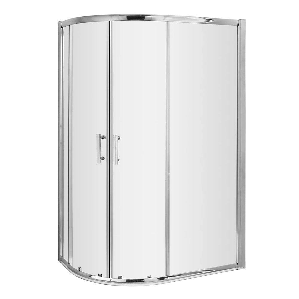 Nuie Pacific Offset Quadrant Shower Enclosure Only - Various Sizes