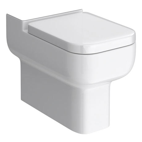 Pro 600 Back To Wall Close Coupled Pan (excluding Seat)